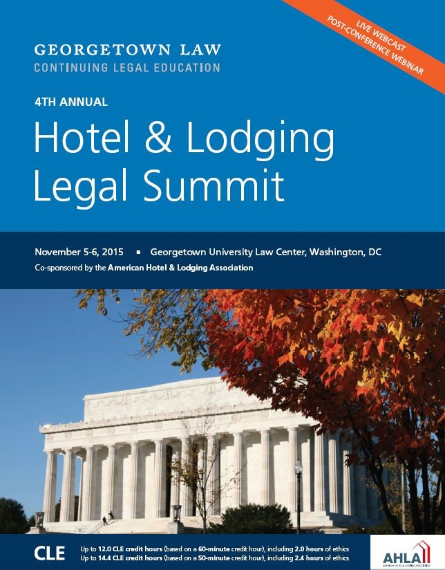 2015 Hotel & Lodging Legal Summit