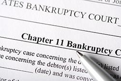 Bankruptcy form photo