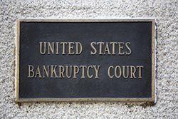 U.S. Bankruptcy Court plaque